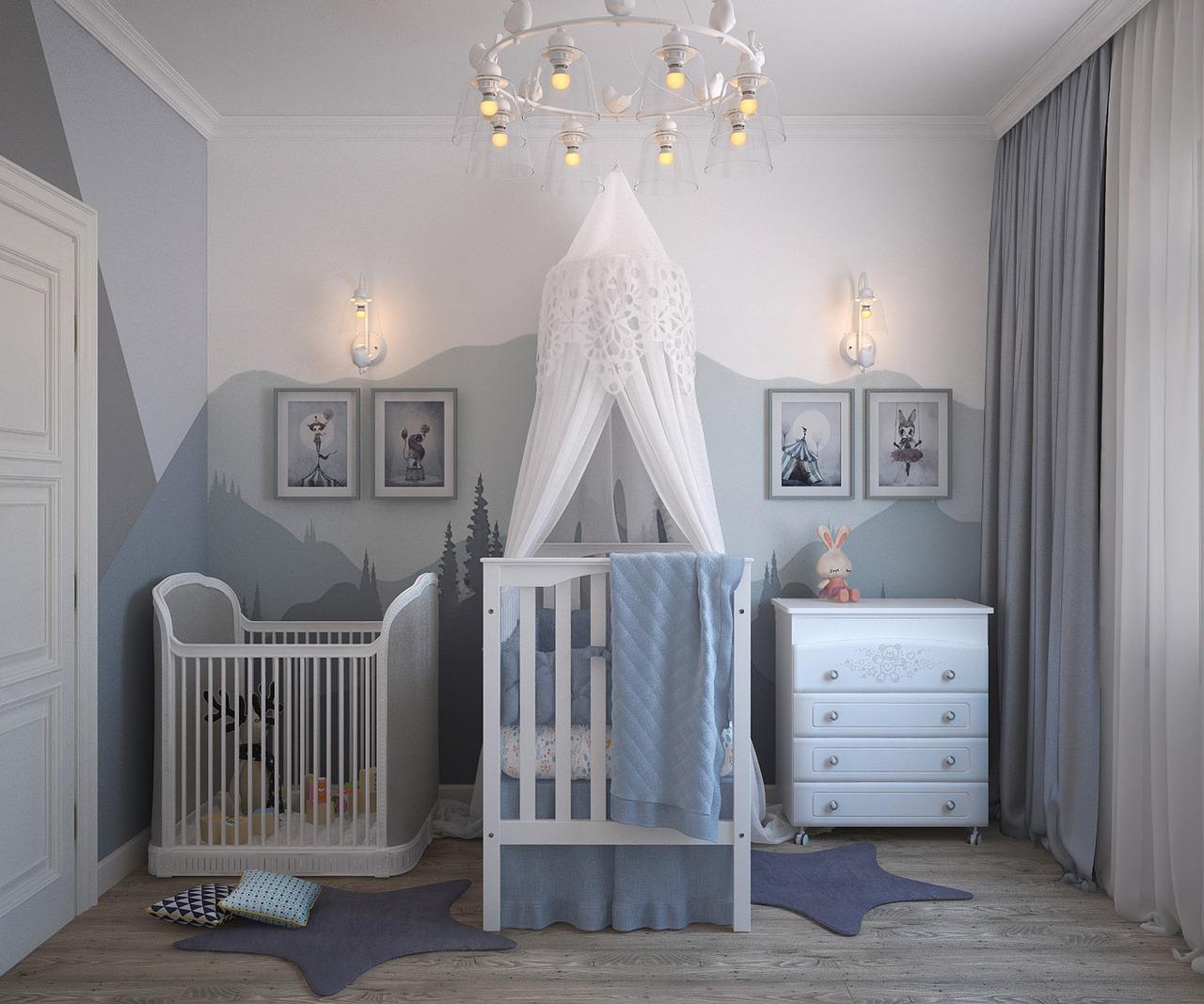 Na kaj paziti pri opremljanju otroške sobe